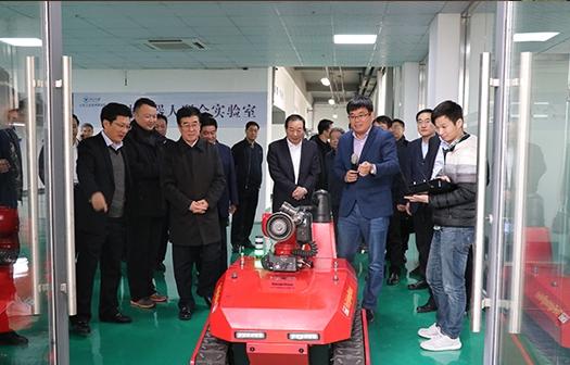 李峰书记莅临浙大山东工研院开展现场办公会