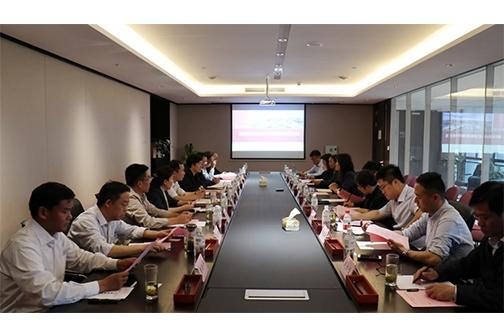 山东省工信系统干部、企业家一行进浙大开展产学研合作对接